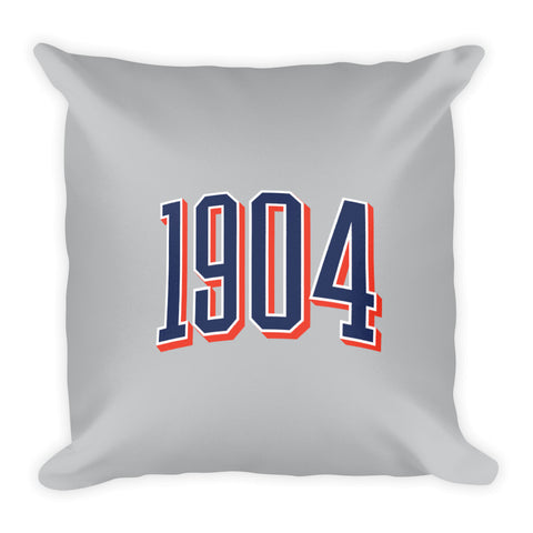 1904 Square Pillow
