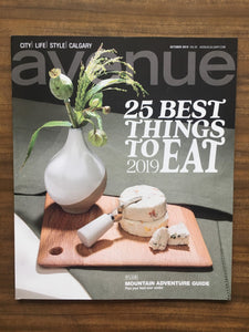 We've been featured! 25 BEST THINGS TO EAT 2019