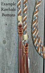 Rawhide Buttons