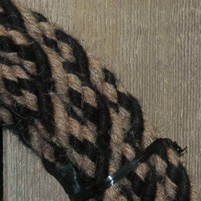 #06a Split Reins - 4 Strand - Turkshead