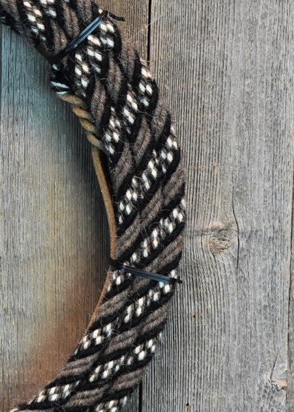 #06td Split Reins - Pattern - 6 Strand Rein Connectors