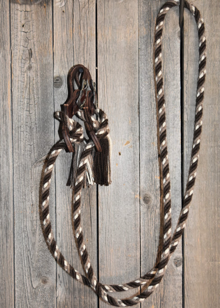 #10 Alpaca * Loop * Roping * Trail Reins - 4 Strand