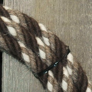 # 10 Split Reins - 4 Strand - Turkshead