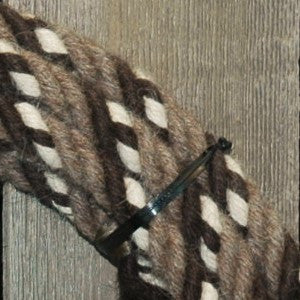#10d Split Reins - 4 Strand - Turkshead
