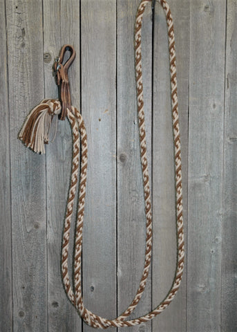 # 11tc Alpaka * Loop * Roping * Trail Reins - 4 Strand