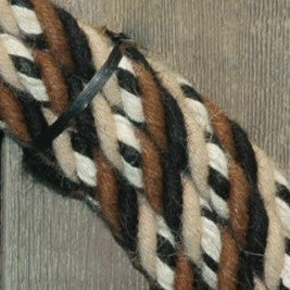 #22h Split Reins - 4 Strand - Turkshead