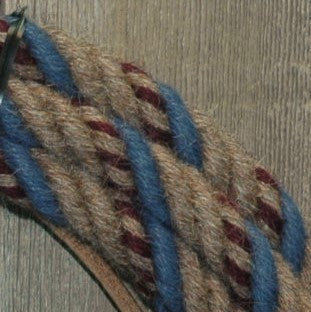 #57 Split Reins - 4 Strand - Turkshead