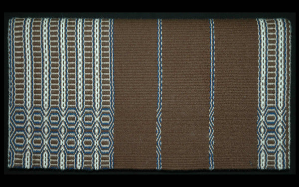Twill Saddle Blanket - 23