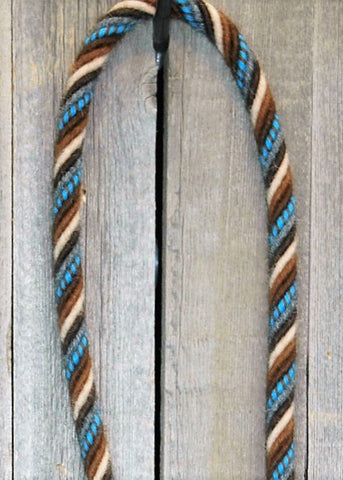 #22at Loop Reins - Pattern - 6 Strand Slobber Straps