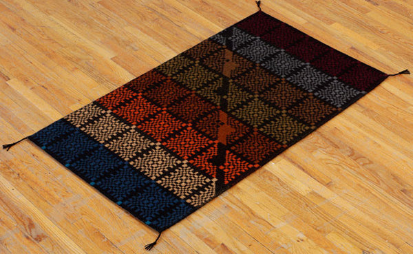 Handwoven Rug - Disconnected