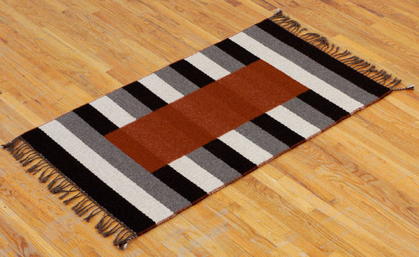 Handwoven Rug - Trainstation