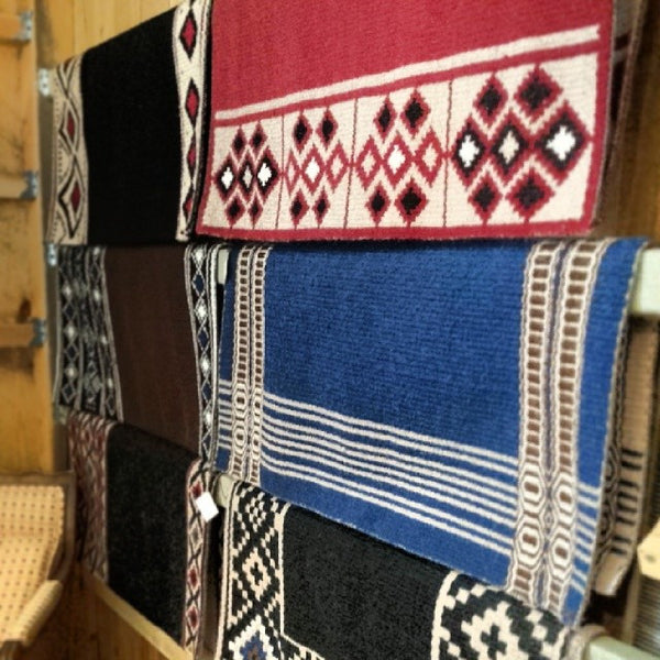 Hand Woven Saddle Blankets by T3