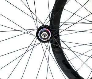 Deluxe carbon Prom Max track wheels 45mm