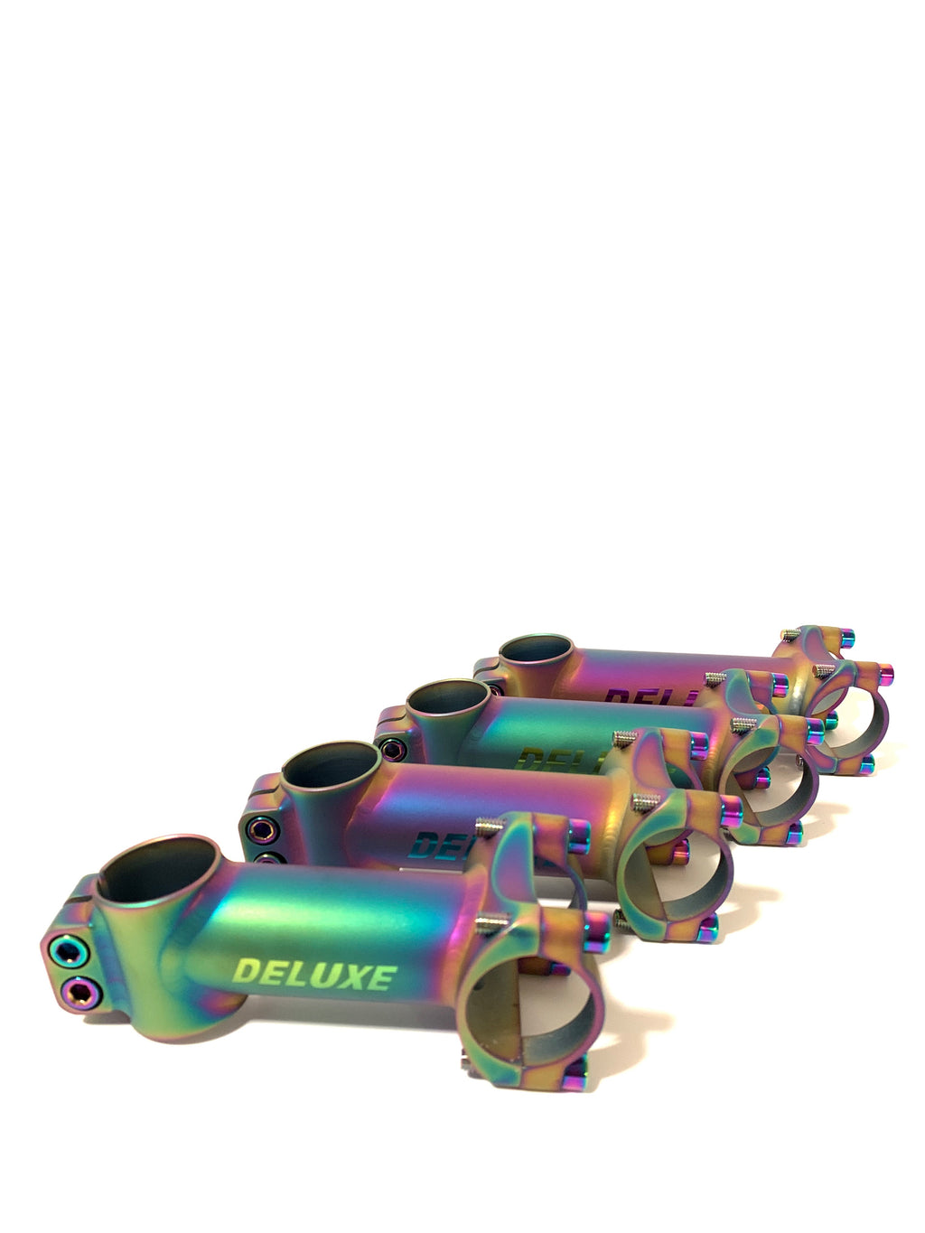 Oil Slick Titanium Stem