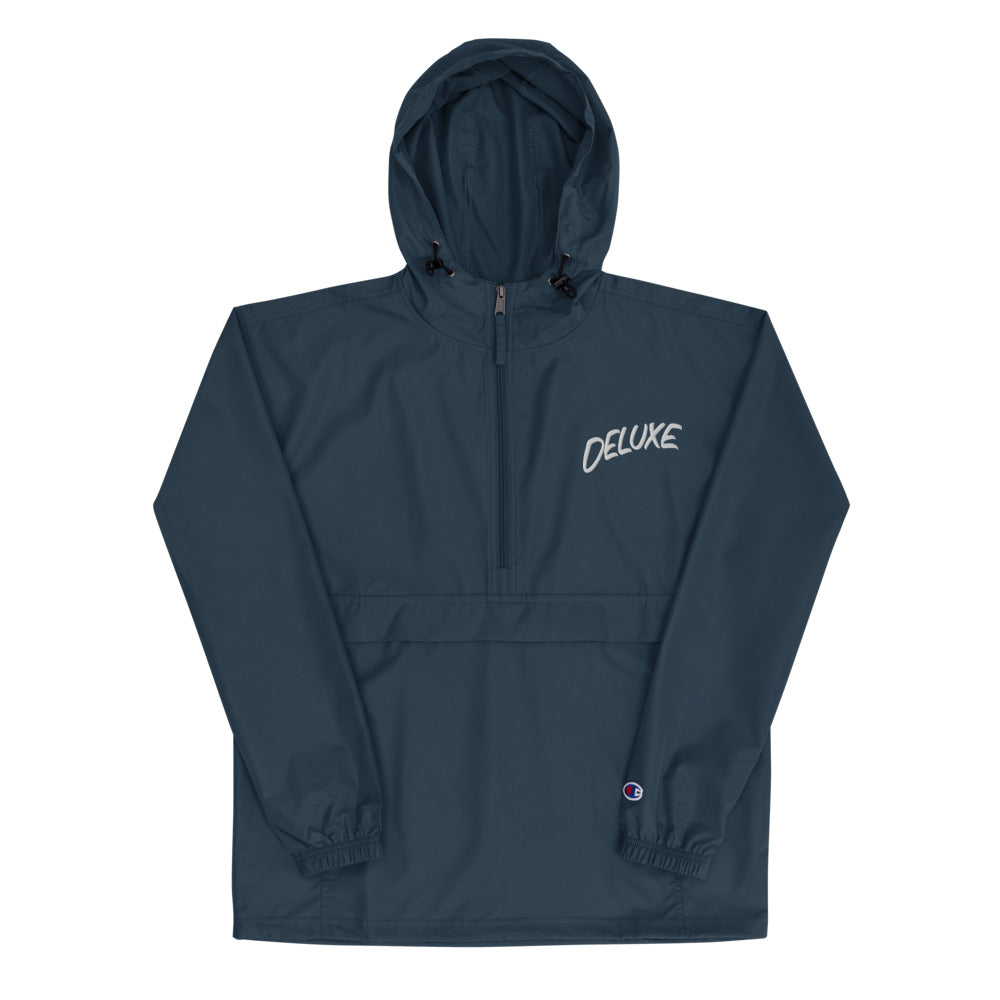 Casual Hand Embroidered Champion Packable Jacket