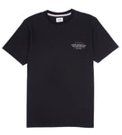 Laser Barcelona x Deluxe Cycles - NYC TO BCN TEE - Black