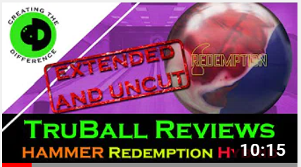 Hammer Redemption Hybrid EXTENDED Bowling Ball Review