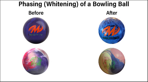 Bowling Ball Phasing Graphic