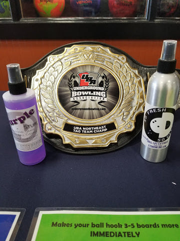 That Purple Stuff & So Fresh and So Clean UBA Tag Team Champs