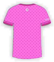 Pink CTDots on Pink Jersey