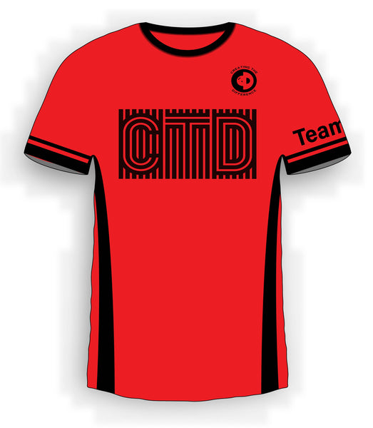 Stripe Type Red Jersey