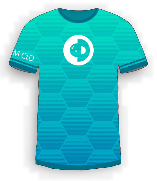 Blue Honeycomb Jersey