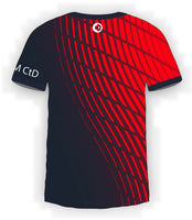 Red Waves Jersey
