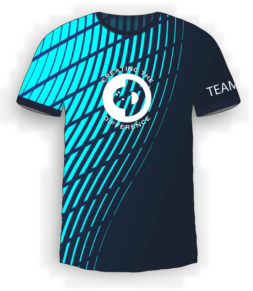 Teal Waves Jersey