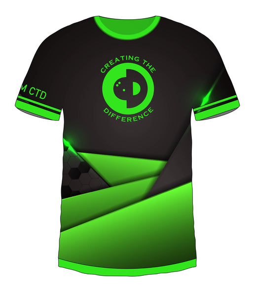 Black Green Hex Jersey