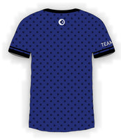 Black CTDots on Blue Jersey