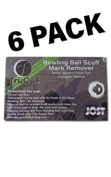 TruCut Scuff Mark Remover | 6 Pack | Sale