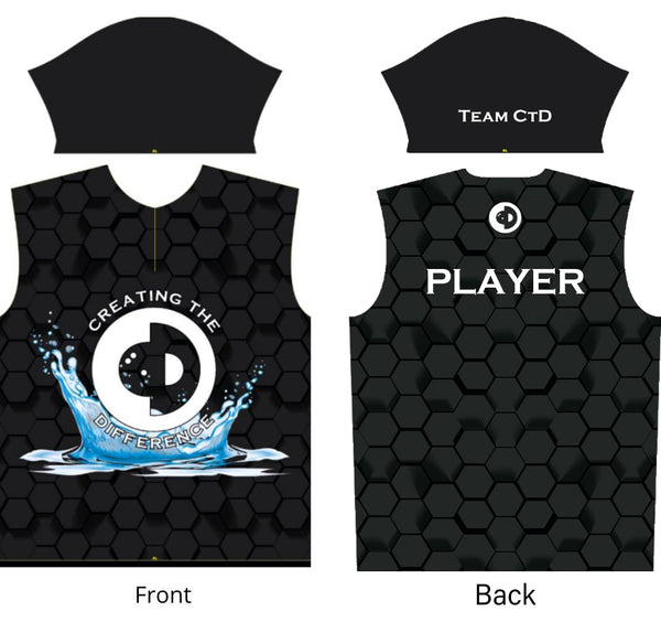 Blue Splash Jersey - Mens