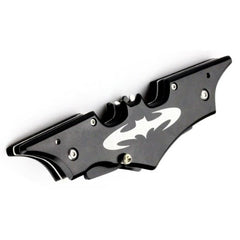 "Icetek Sports Batman Dual Blade Knife, Black, 11.5"" Large"