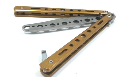 Balisong Butterfly Knife with Sharpened Blade – iceteksports com