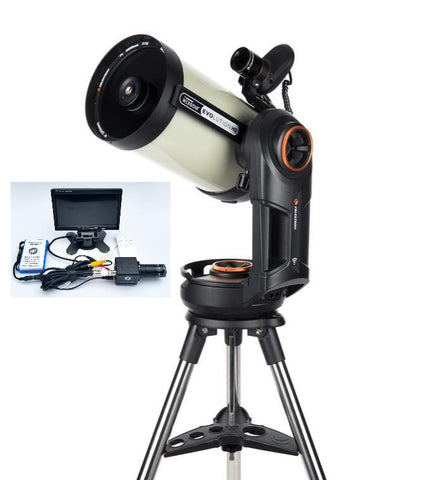 NexStar Evolution 8 EdgeHD w/ Starsense and Revolution Imager R2 12096