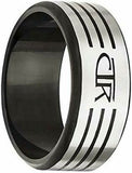 J171 Mormon LDS Unisex CTR Ring Slice Stainless Steel Size 8-13 One Moment In Time