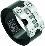 J141 Mormon LDS Unisex CTR Ring Stainless Steel Nitro Size 8-13 One Moment in Time