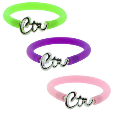 3 Pack - Kids CTR Rings - CUT TO FIT ANY SIZE - H20 - One Moment In Time