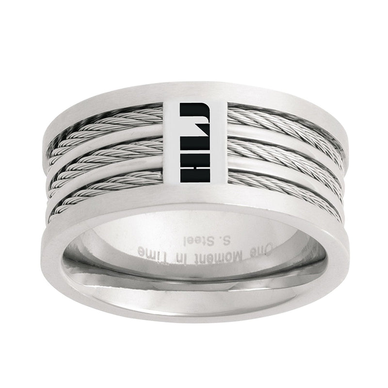 J121S CTR RING Stainless Steel SPANISH Triple Cable HLJ