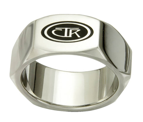 J176 - FORGED - CTR Ring - Stainless Steel