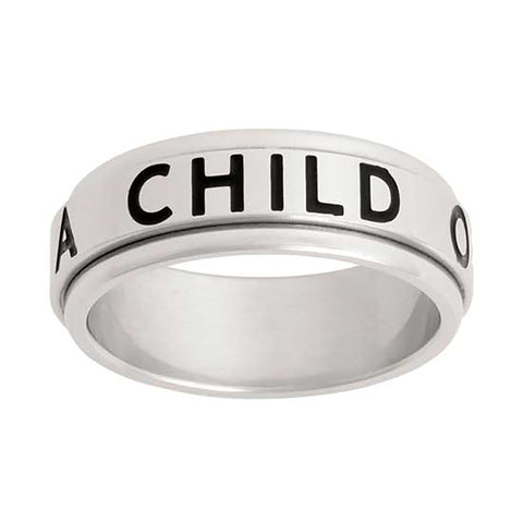 "CTR RING SPINNER ""I am a Child of God"" - J43"