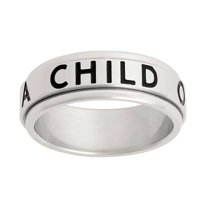 J43 CTR RING SPINNER Child God