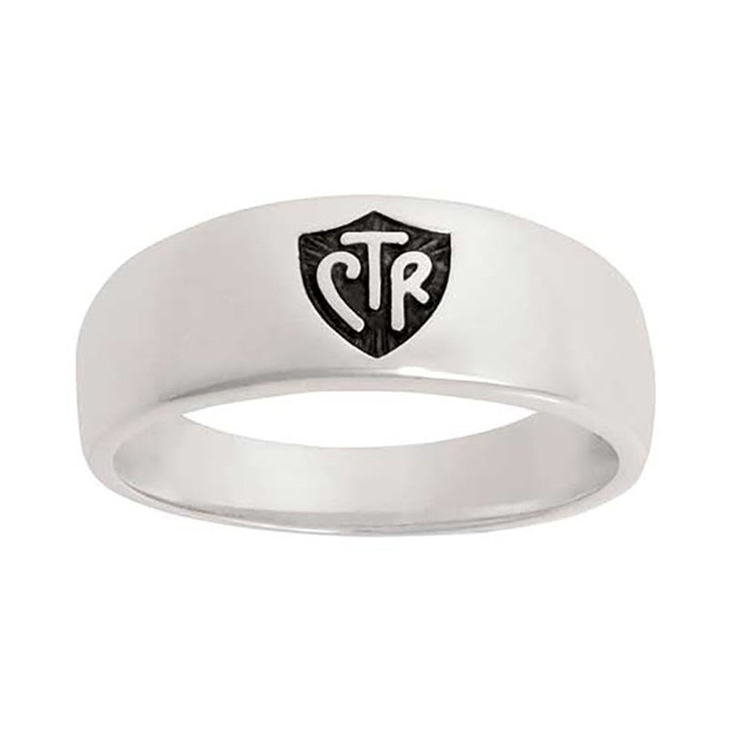 J57a CTR RING Band Plain