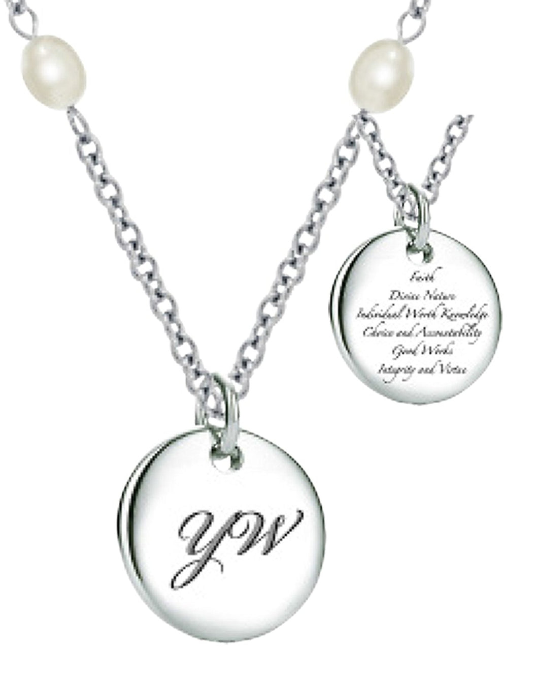 K12 CTR Young Women Necklace One Moment in Time