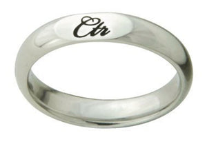 "J178 - CTR RING ""Remy"" Stainless Steel"