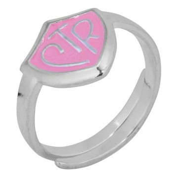 H14P Adjustable CTR Ring Pink Handmade Primary