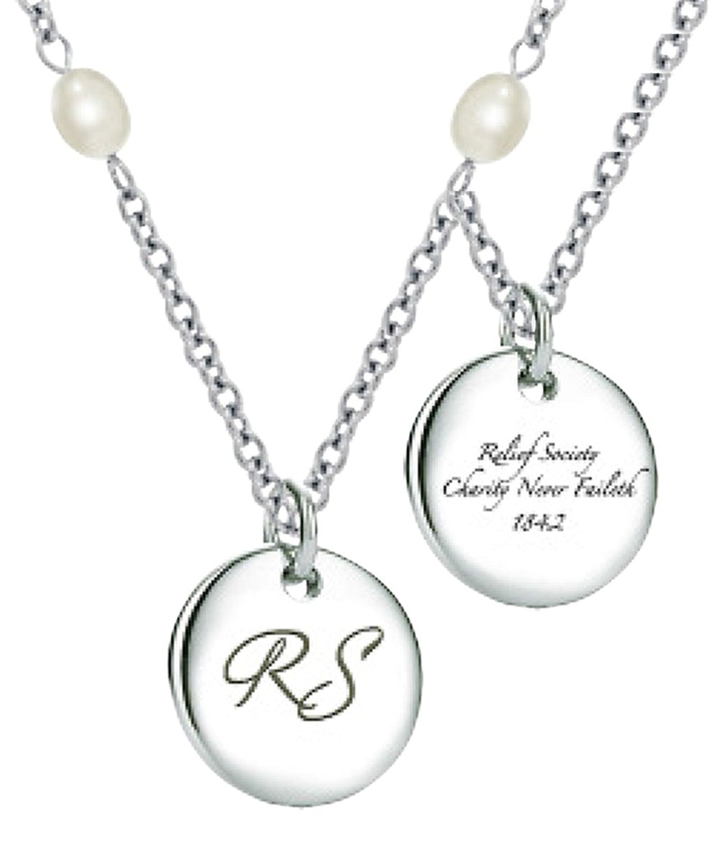 K13N Relief Society Necklace One Moment in Time