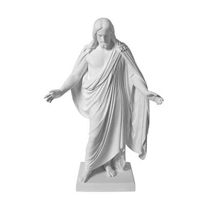 "S4 Marble Statue Christus Statue 10"" One Moment in Time"