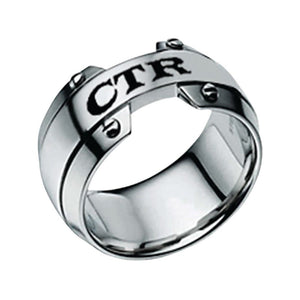 "J143 - CTR Ring Stainless Steel ""Gost"""
