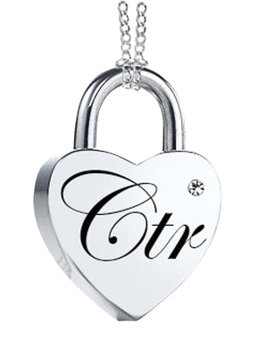 K11 - CTR Love Lock Necklace